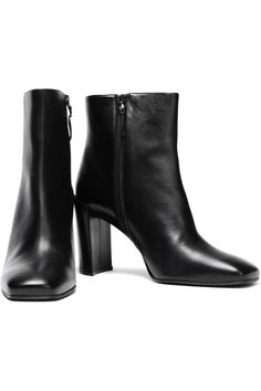 Black Leather ankle boots   Sale up to 70% off   THE OUTNET   STUART WEITZMAN   THE OUTNET