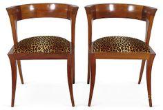 Mid-Century Modern Side Chairs, Pair on OneKingsLane.com