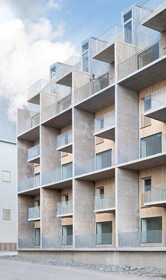 Tappen Housing, Stockholm, Joliark #facade