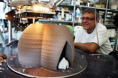 3ders.org - WASP team to 3D print homes in developing countries using clay and soil   3D Printer News & 3D Printing News