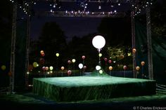 Midsummer Night's Dream. Free Shakespeare on Boston Common. Scenic design by Beowulf Boritt Design. 2007
