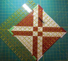 "I am working on a new quilt and have gotten to the ""squaring up"" stage.  This is a good block to demonstrate a few tips on.  It wi..."