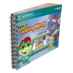 Black Friday 2014 LeapFrog LeapReader Writing Workbook: Write it! Talking Words Factory from LeapFrog Enterprises Cyber Monday. Black Friday specials on the season most-wanted Christmas gifts. Free Activities, Writing Activities, Three Letter Words, Thing 1, Rhyming Words, Create Words, Learning Toys, Writing Skills, New Words