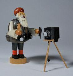 German Christmas Smoker Photographer