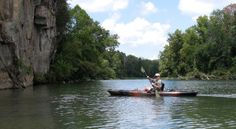 1. You've taken a float trip down the Illinois River - either by raft or canoe.