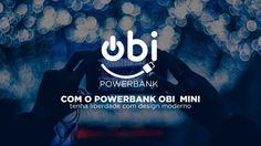 Recarregue seu smartphone e seu tablet em qualquer lugar com o carregador portatil power bank obi!  http://powerbankobi.com.br/