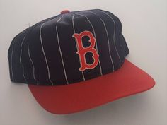 78a9c7ed519 Vintage Boston Red Sox Starter Snapback Hat MLB VTG