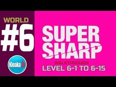 Super Sharp - World 6 Walkthrough - Level 6-1 to 6-15 (All Stars)