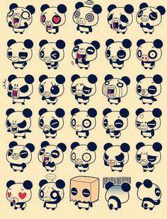 Panda+chibi im in love♥ Panda Kawaii, Japan Kawaii, Kawaii Cute, Chibi Panda, Cartoon Panda, Panda Emoji, Panda Panda, Cute Panda Drawing, Cute Cartoon Drawings