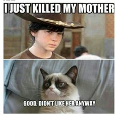 Same.  .......... the not caring part, not the...... mother killing..... part..... O_O..... *ahem*.