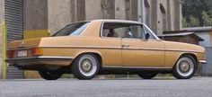 Oldie & Goldie:Mercedes 280 CE (W114) 72er Strich-Acht als automobiles Schmuckstück
