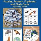 The Word Family Mega Pack K-1 includes:   Rhyming Word Family Posters  - grades K-1    Picture Word Puzzles K-1 for Small Group Learning Fun    Rhy...