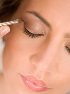 """Don't fret if you forgot your eyeliner. """"You can always use a firm, small brush to apply mascara to the lash line,""""  - this works great - tried & true!"""