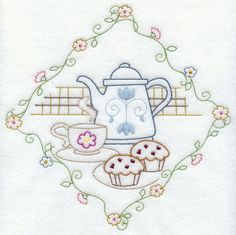 Machine Embroidery Designs At Embroidery Library!   A Dash Of Vintage Kitchen  Design Pack   XXL Part 67