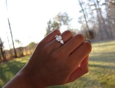 It's HERE!!! My 5-stone 8-prong trellis reset by DBL : Show Me the Bling! (Rings,Earrings,Jewelry) • Diamond Jewelry Forum - Compare Diamond Prices, Discussions & Diamond Information - Page 4