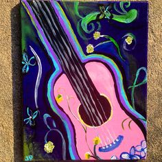 For the music lovers! Canvas painting