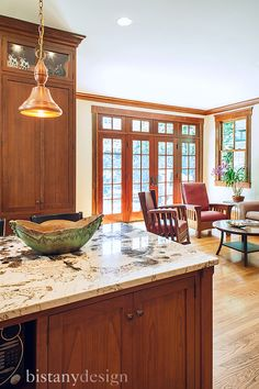 Custom kitchen renovation in Charlotte, NC. Dutch Made Custom Cabinets by  Bistany Design #