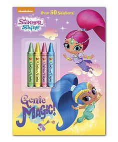 Genie Magic Coloring Book