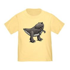 Shop for unique nursery art like the T Rex Toddler T-Shirts by MikeLevett on BoomBoomPrints today! T Rex, Dinosaurs, T Shirts For Women, Mens Tops, Stuff To Buy, Shopping, Design, Style, Swag