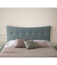 Comprar online Cabecero tapizado de estilo nórdico modelo MALMO Lounge, Couch, Ideas, Furniture, Home Decor, Templates, Upholstered Headboards, Headboards, Yurts