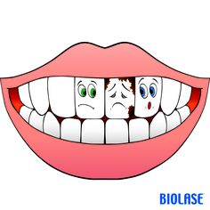 Don't like having stained teeth? Lessen your intake of juice, coffee, tea, dark cola, and red wine. Teeth Images, Pencil Drawings Of Flowers, Halloween Ribbon, Dental Kids, Dental Facts, Stained Teeth, Health Activities, Teeth Care, Children Images