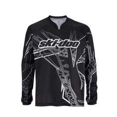 Ski Doo Mens Mountain Jersey 2013 Black 453528 Ecklund Motorsports $30.99