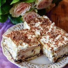 Ciasto orzechowe na zimno Sok z mięty :-)Szklaneczka pyszności :-)Ciasto na zimno - warstwowe :-) French Toast, Breakfast, Food, Meal, Eten, Meals, Morning Breakfast