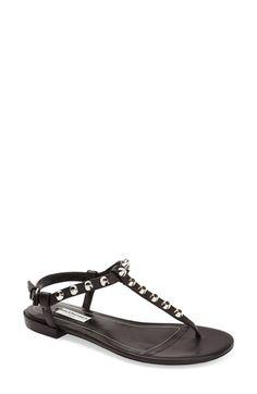 8bbff01da1953 Balenciaga Studded Leather Thong Sandal (Women)