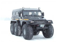Trecol 39294 Amphibious 6×6.  Forget your Hummer, I want one of these.
