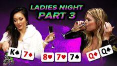 LADIES GETTING TIPSY [NIGHT 1 PART 3] World Poker Tour, Seminole Hard Rock, Poker Night, Free To Play, Ladies Night, Suzy, In Hollywood, Girls Night