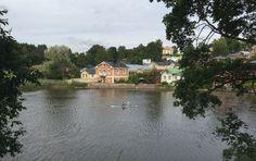 Työmatkalla Suomessa, Porvoo, elokuu 2015.