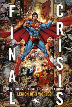 Final Crisis: Legion of 3 Worlds HC (2009) - cover by George Perez