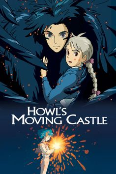 Howl's Moving Castle (2004) When an unconfident young woman is cursed with an old body by a spiteful witch, her only chance of breaking the spell lies with a self-indulgent yet insecure young wizard and his companions in his legged, walking castle.