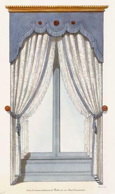 lambriquin lambrequin window treatment window treatments pinterest window cornice and. Black Bedroom Furniture Sets. Home Design Ideas