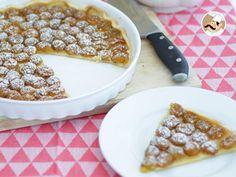 Receita Sobremesa : Tarte de ameixa amarela simples de PetitChef_PT