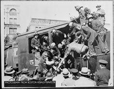 Two men die in locomotive wreck in Back Bay   by Boston Public Library