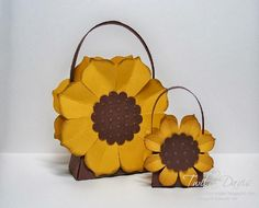 Sunflower Treat Boxes