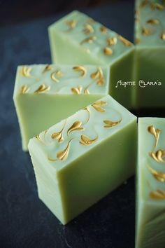 Avocado & Lemongrass Handcrafted Soap by Auntie Clara's