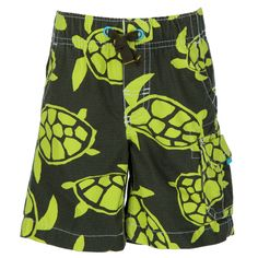 Carter's® Boys 2T-4T Sea Turtle Print Cargo Board Short #VonMaur