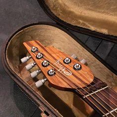 Alquier Guitars Ethiq acoustic headstock