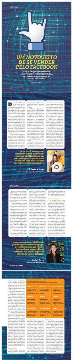 Entrevista do CEO da Fabulosa Ideia, Rafael Terra, para a Revista Amanhã, sobre estratégias de relacionamento e venda no Facebook.