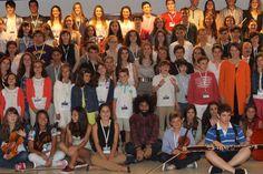 18 JULY 2014 Inauguración de los cursos de verano de la Escuela Internacional de Música de la Fundación Príncipe de Asturias