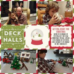 Decking the Halls page by lizzier - Cards and Paper Crafts at Splitcoaststampers Lego Christmas Village, Digital Project Life, Deck The Halls, Paper Cutting, Hot Chocolate, Stampin Up, About Me Blog, Card Making, Paper Crafts