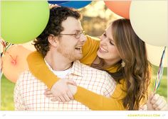 """Disney Themed Engagements. Balloons. """"Up"""""""