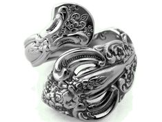 Wrapped Spoon Ring Michelangelo Choose your Size by dankartistry, $27.00