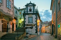 Cesky Krumlov, well known for the particular architecture of the old town and the castle - Czech Republic