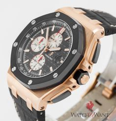 5b60bd51eb0 Luxury Pre-Owned Audemars Piguet Royal Oak Offshore Chronograph Ref.  26401RO.OO.