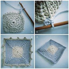 Single Crochet Square Pattern