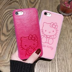 High Quality Pu Leather cute Hello kitty Case for Apple iphone 7 6 Lovers TPU Silicone Phone Case Back Cover Capa – World of Hello Kitty Merchandise Cute Phone Cases, Iphone Phone Cases, Samsung Cases, Iphone 7, Apple Iphone, Earphone Case, Silicone Phone Case, Hello Kitty Merchandise, Hello Kitty Accessories