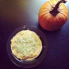 Proteins :)  #eggs #pumpkin #humus #omnomnom